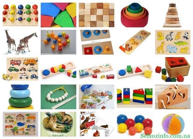 большой выбор детских игрушек