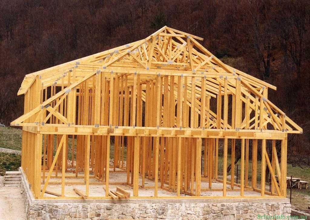 Строительство каркасного дома своими руками