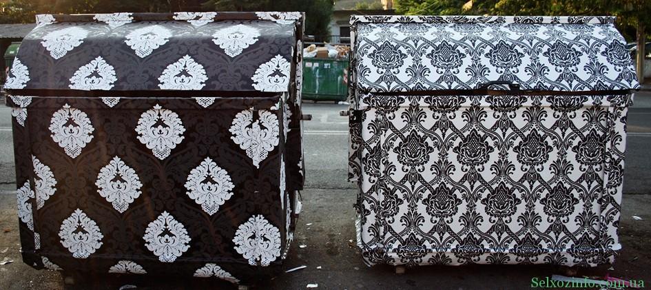 Баки и мусорные контейнеры своими руками