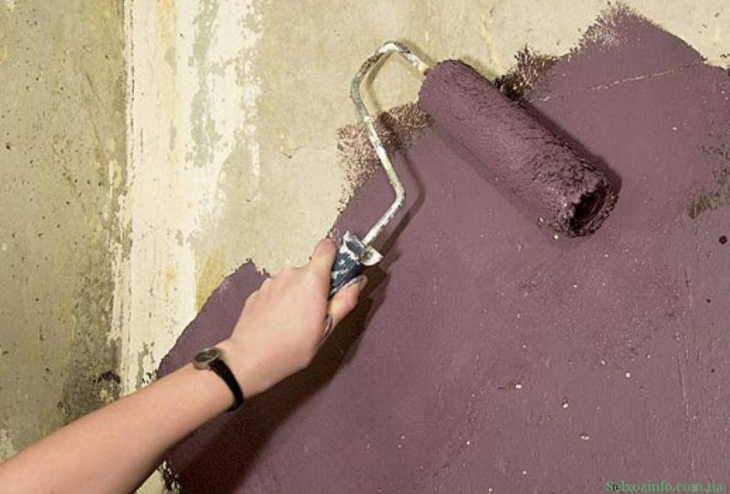 Окрашивание бетона - все нюансы