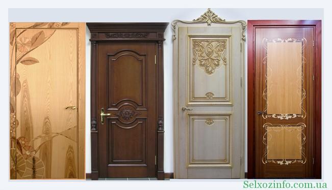 Двери межкомнатные из массива дерева