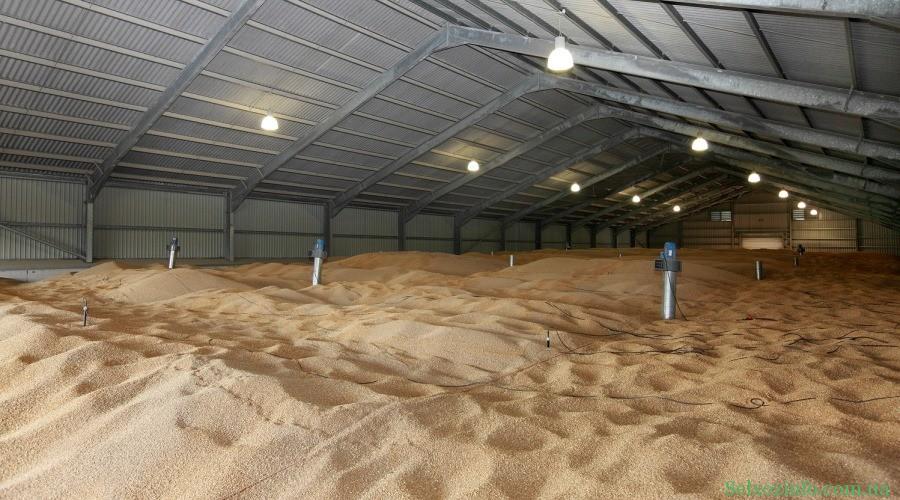 Условия хранения зерна