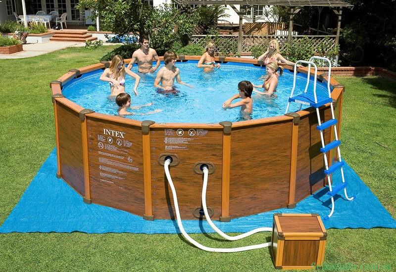 Каркасный бассейн от Intex