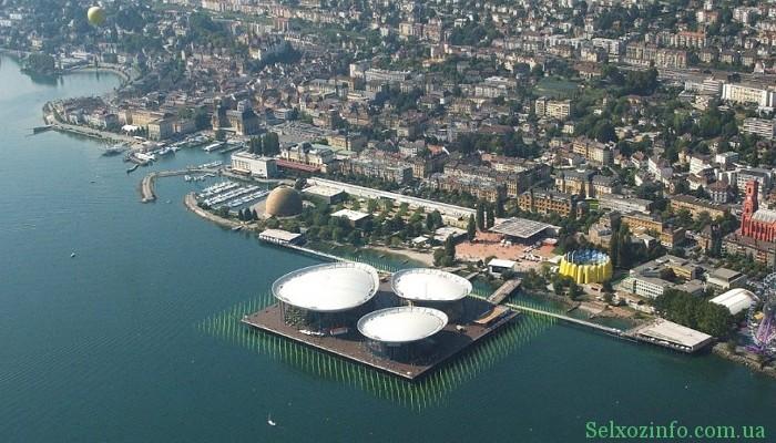 Отдых в Швейцарии: город Невшатель