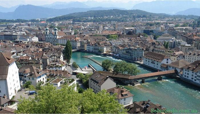 Отдых в Швейцарии: город Женева