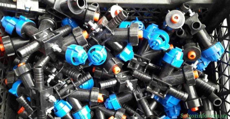 Пластиковые форсунки для полевых опрыскивателей
