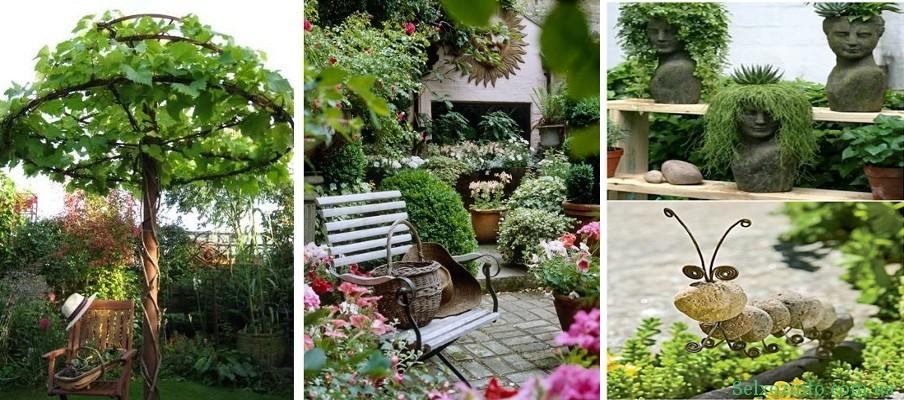 ландшафтные идеи для сада своими руками