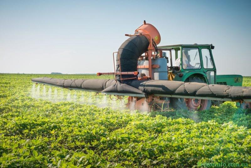 Обработка урожая от вредителей