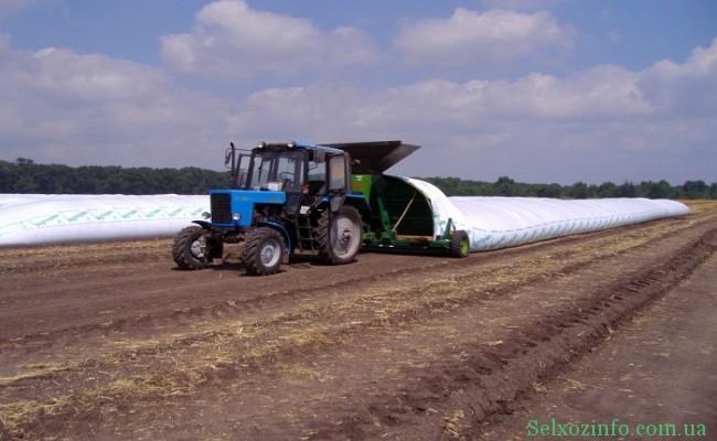 Хранение зерна в полимерных в рукавах - 3