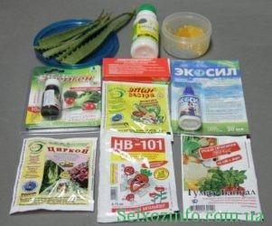Засоби для знезараження насіння і грунту