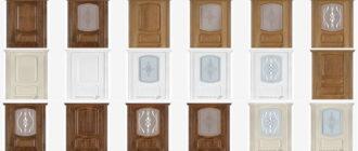 Купить шпонированные межкомнатные двери в Харькове