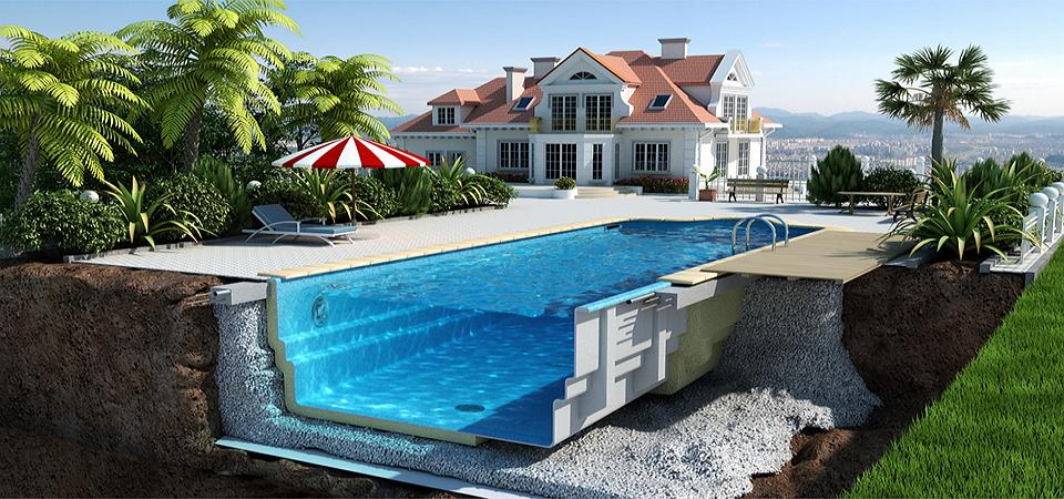 Этапы строительства бассейна: что нужно знать